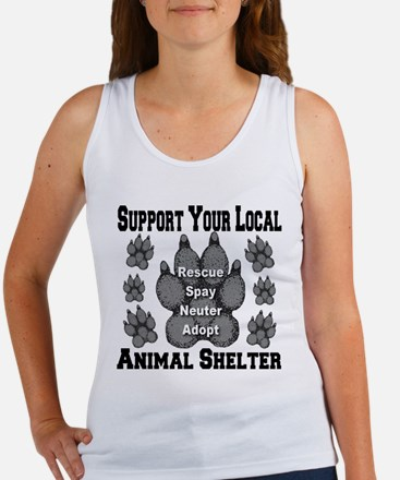 Support Your Local Animal She Women's Tank Top