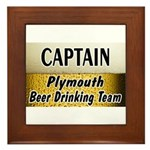 Plymouth Beer Drinking Team Framed Tile
