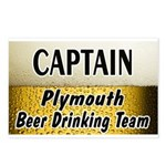Plymouth Beer Drinking Team Postcards (Package of