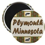Plymouth Loon Magnet