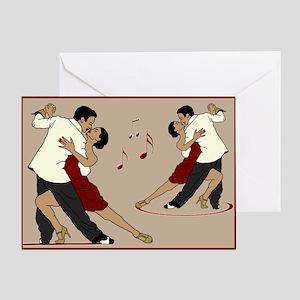 tango music Greeting Card