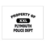 Property of Plymouth Police Dept Small Poster