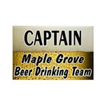 Maple Grove Beer Drinking Team Rectangle Magnet (1