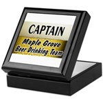 Maple Grove Beer Drinking Team Keepsake Box
