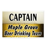 Maple Grove Beer Drinking Team Postcards (Package