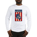 Obey the Scottie! USA Long Sleeve T-Shirt
