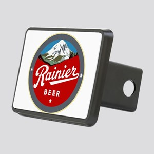 Historic Rainier Beer logo Rectangular Hitch Cover