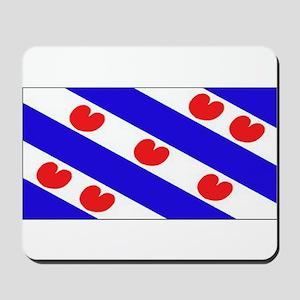 Friesland Frisian Blank Flags Mousepad
