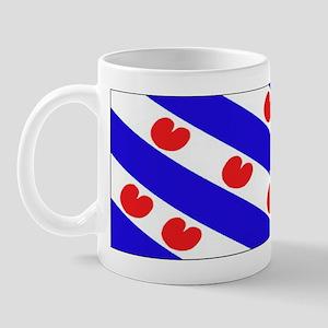 Friesland Frisian Blank Flags Mug