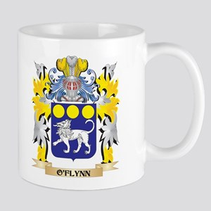 O'Flynn Family Crest - Coat of Arms Mugs