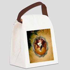 Isis, egyttian design Canvas Lunch Bag