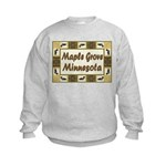 Maple Grove Loon Kids Sweatshirt