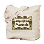 Maple Grove Loon Tote Bag