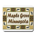 Maple Grove Loon Mousepad