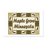 Maple Grove Loon Mini Poster Print