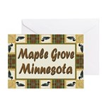 Maple Grove Loon Greeting Card