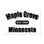 Maple Grove Established 1858 Mini Poster Print