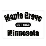 Maple Grove Established 1858 Postcards (Package of