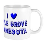 I Love Maple Grove Winter Mug