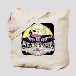 Black Swan Motorcycles Mysterious Black Tote Bag
