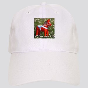Horse in Flowers Cap