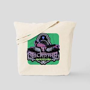 Black Swan Motorcycles Sweet Green Tote Bag
