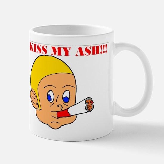 Kiss My Ash 2 Mug
