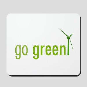 Go Green Mousepad