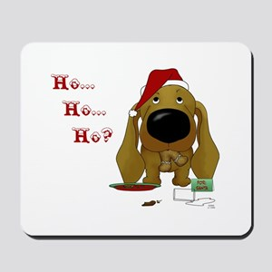 Doxie Santa's Cookies Mousepad