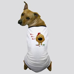 Golden Retriever Santa Dog T-Shirt