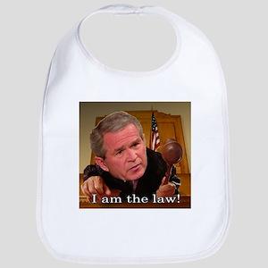 """""""I am the law"""" Bib"""