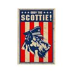 Obey the SCOTTIE! USA Scottish Terrier Magnet