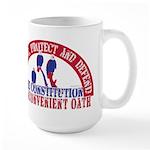 An Inconvenient Oath Large Mug