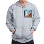 Food Commercials Zip Hoodie
