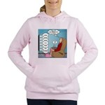 Food Commercials Women's Hooded Sweatshirt