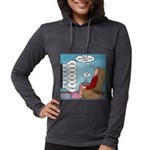 Food Commercials Womens Hooded Shirt
