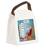 Food Commercials Canvas Lunch Bag