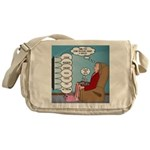Food Commercials Messenger Bag