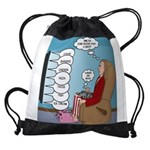 Food Commercials Drawstring Bag