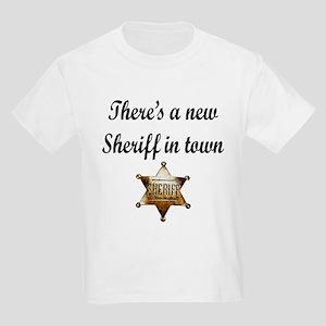 NEW SHERIFF IN TOWN Kids Light T-Shirt