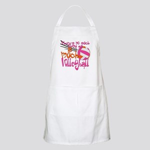 2 much Volleyball Apron