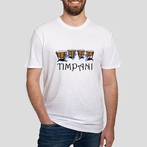 Timpani Fitted T-Shirt