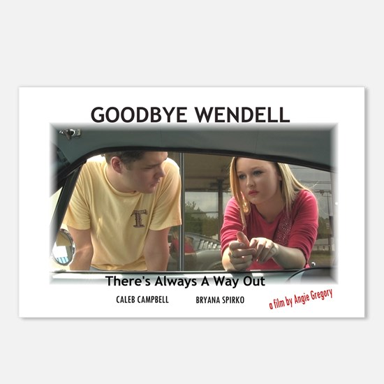 Goodbye Wendell Postcards (Package of 8)