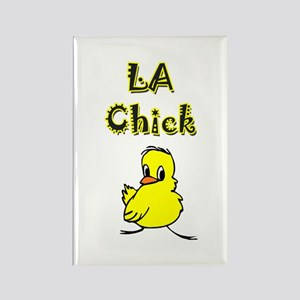 Crystal Chick Rectangle Magnet