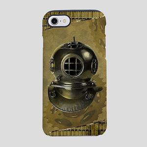 Steampunk, Diving helmet antique iPhone 7 Tough Ca