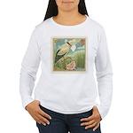 Baby Girl Announcement Women's Long Sleeve T-Shirt