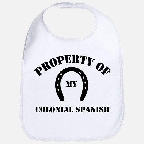 My Colonial Spanish Bib