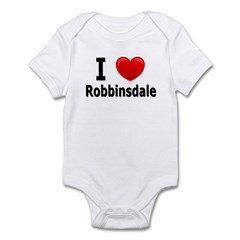 I Love Robbinsdale Infant Bodysuit