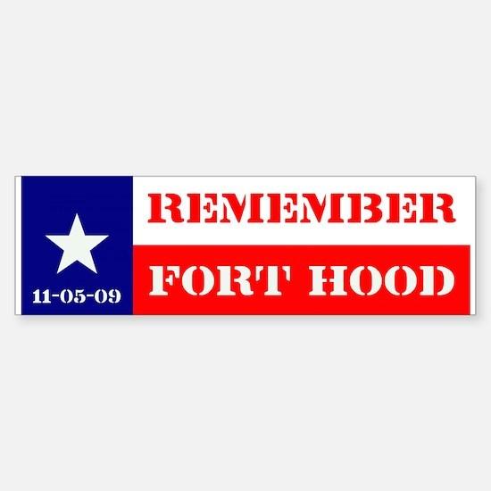 Bumper Sticker - Remember Fort Hood
