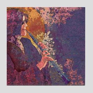 Oboe Lament Art Tile